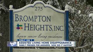 Family wants answers after 87-year-old goes missing - Video