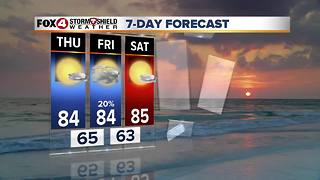 FORECAST: Comfortable Weather Continues 4-25 - Video