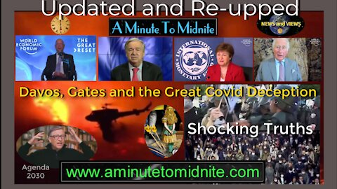 Davos, Gates and the Great Covid Deception. Shocking Agenda that You Need to Know About-Edited RE-UP