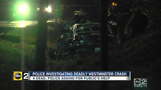 Four people dead in Westminster crash - Video