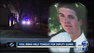 Vigil being held Friday evening for Adams County Deputy Heath Gumm
