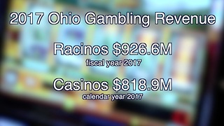 Ohio gambling revenue figures show continued growth among state's racinos - Video