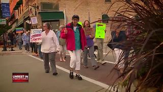 'Silent march' held in Sturgeon Bay to inspire unity, stand against Charlottesville violence - Video