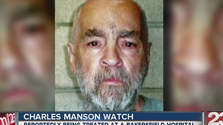 Charles Manson hospitalized in Bakersfield - Video