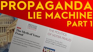 EXPOSED: Colombia U, ProjectVote.org, And The Election Fraud Propaganda Lie Machine Part 1