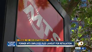 Former MTS employee files lawsuit for retaliation - Video