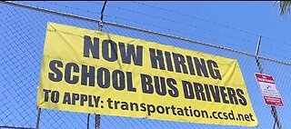 CCSD hiring for bus drivers, multiple positions