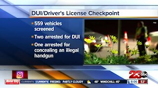 DUI/driver's license checkpoint