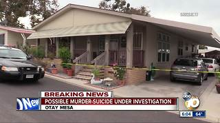 Police investigate possible murder-suicide - Video