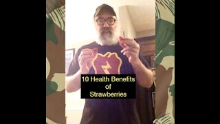 10 Health Benefits of Strawberries