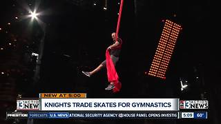 Vegas Golden Knights goes Cirque - Video