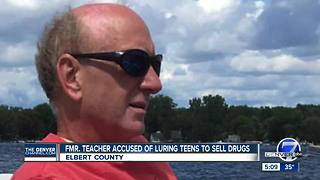 Former teacher accused of luring teens to sell drugs - Video
