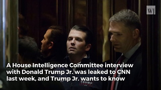 'Wildly Inaccurate': Donald Trump Jr. Calls for House Investigation Into CNN - Video