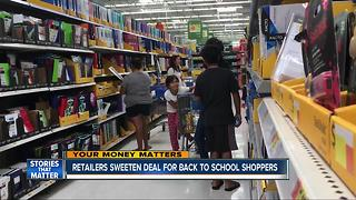 How not to overspend on school supplies - Video