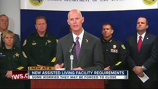 New assisted living facility requirements after 10 residents die at Florida nursing home after Irma - Video