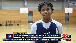 Male Athlete of the Week: Kadar Waller - Video