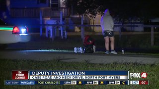 Overnight investigation on Heck Drive in North Fort Myers