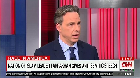 CNN's Jake Tapper Breaks Through Media Blackout, Covers Louis Farrakhan Controversy