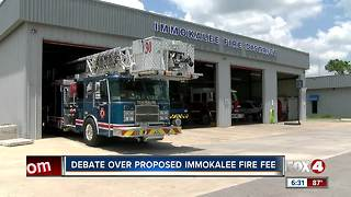 Proposed fire tax concerns businesses in Immokalee - Video