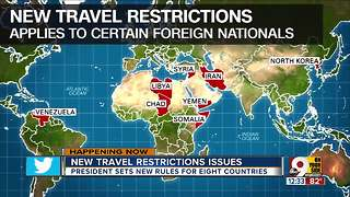 New travel restrictions issues - Video