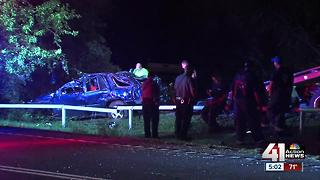 Man ejected, killed in Noland Road crash - Video