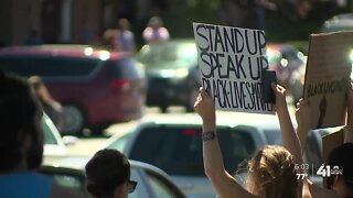 Emotions run high at peaceful protest