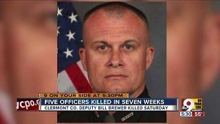 Hamilton County Coroner remarks on 5 dead officers in 5 weeks