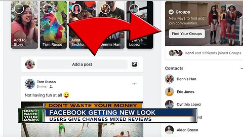 Here's why your Facebook page has a whole new look