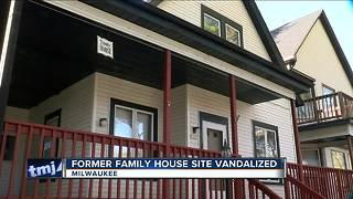 Family House Site Vandalized - Video