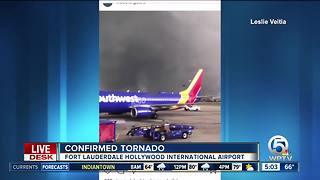 2 confirmed EF-0 tornadoes hit Fort Lauderdale - Video