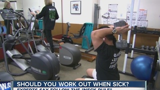 Should you exercise when sick? - Video