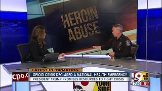 Opioid crisis declared national health emergency - Video