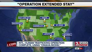 Nationwide human trafficking bust successful - Video