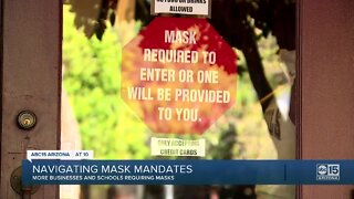 Navigating mask mandates in Arizona