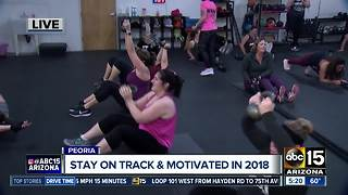 Local gyms helping you stay on track and get fit this year - Video