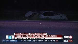 Deadly crash overnight takes the life of Naples man