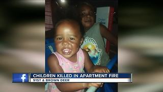 Family remembers toddler fire victims as investigation continues - Video