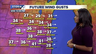 Milwaukee weather forecast: Very windy Wednesday, with lingering rain and snow showers