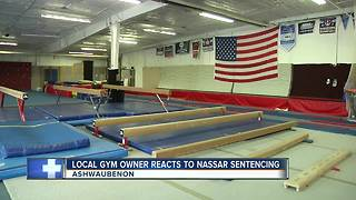 Local gymnastics community reacts to Nassar sentencing - Video