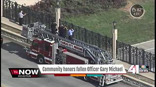 Community honors fallen Officer Gary Michael