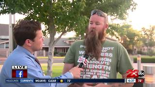 Local veteran, Anthony Noble, working to prevent veteran suicides - Video