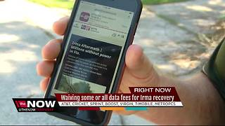Wireless carriers waive charges for Florida customers during Irma aftermath - Video