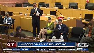 1 October shooting victims and survivors discuss fund distribution - Video