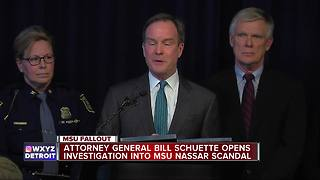 Bill Schuette opens investigation into Nassar scandal - Video