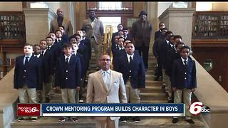 Crown Mentoring Program offers  a character-based curriculum in schools - Video
