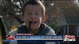 Disabled Tulsa Family's Car Stolen a Week Before Christmas