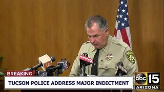 Sheriff Mark Napier addresses indictment in Celis, Gonzales deaths - Video