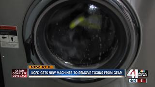 Woman raises funds for washing machines for KCFD