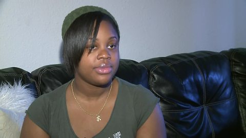 Student rejects tuition increase idea