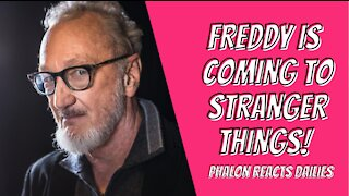 FREDDY IS COMING TO STRANGER THINGS